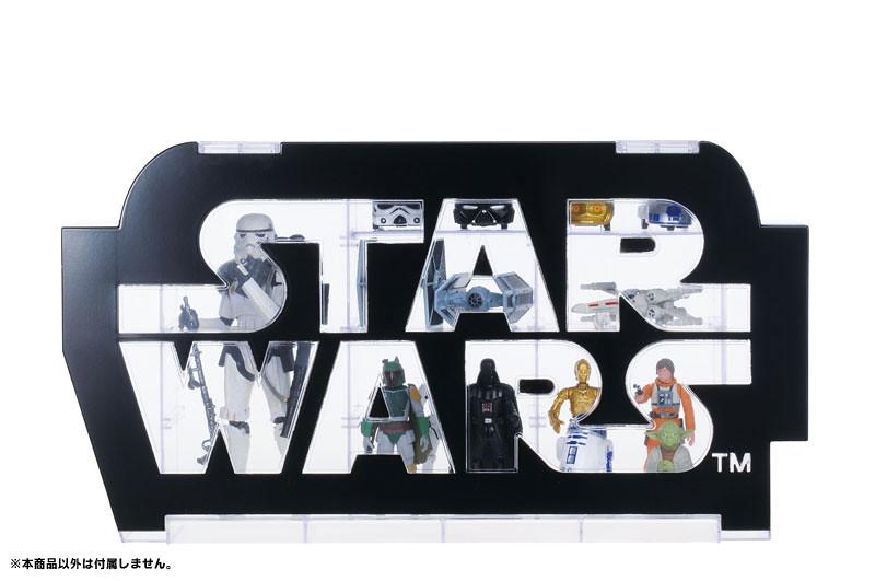 【完整官圖、販售資訊更新】TAKARA TOMY【星際大戰展示盒】讓你的星戰收藏品有個家!!