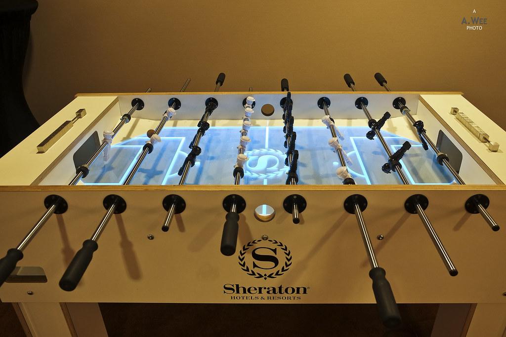 Foosball machine