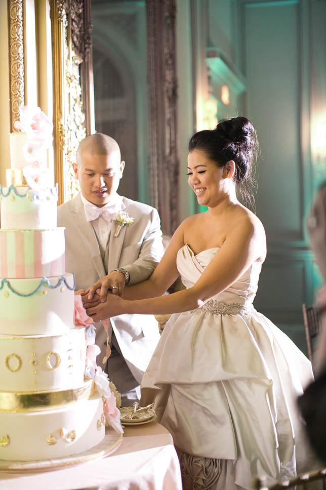 Marie Antoinette themed Wedding + Wedding Reception ,wedding cake