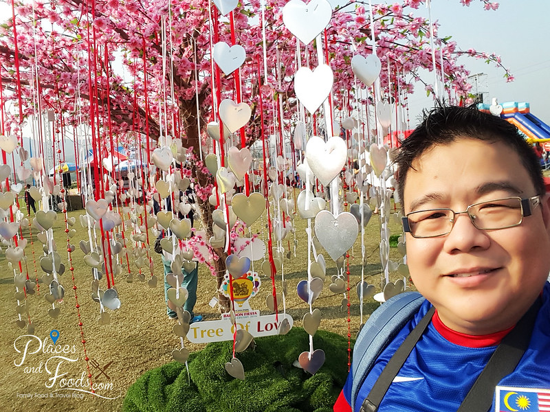 singha hot air balloon fiesta tree of love selfie