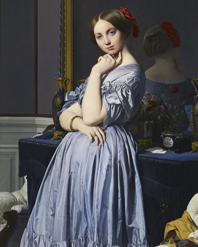 Jean-Auguste-Dominique Ingres - Comtesse d'Haussonville (1845)