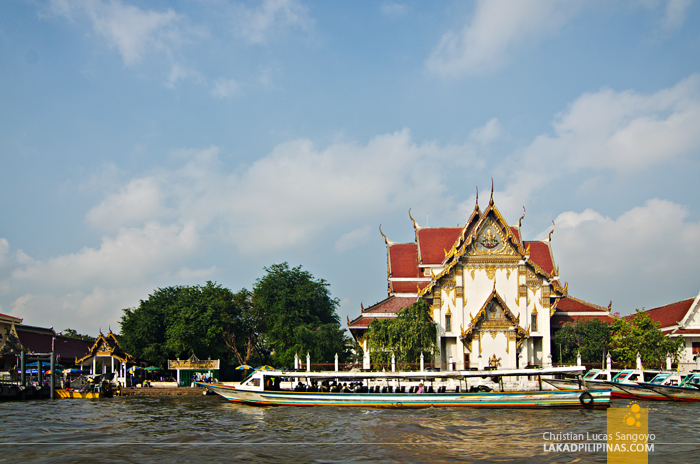 Chao Phraya River Tour Temple