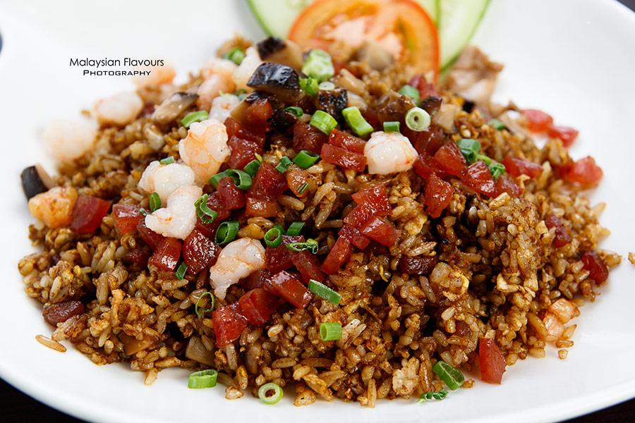 The Prince Restaurant 1Mont Kiara KL sausage fried rice