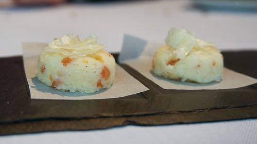 Bombones de queso