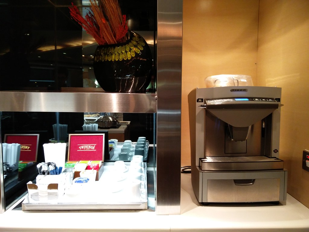 Espresso machine and tea