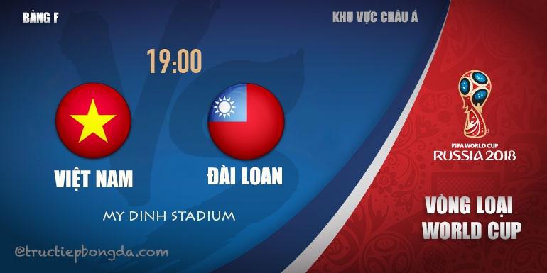 Xem lại: Việt Nam vs Đài Loan