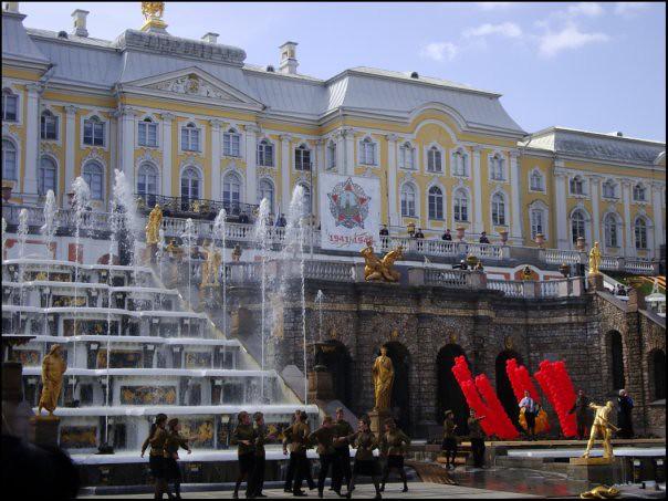 Beautiful Peterhof