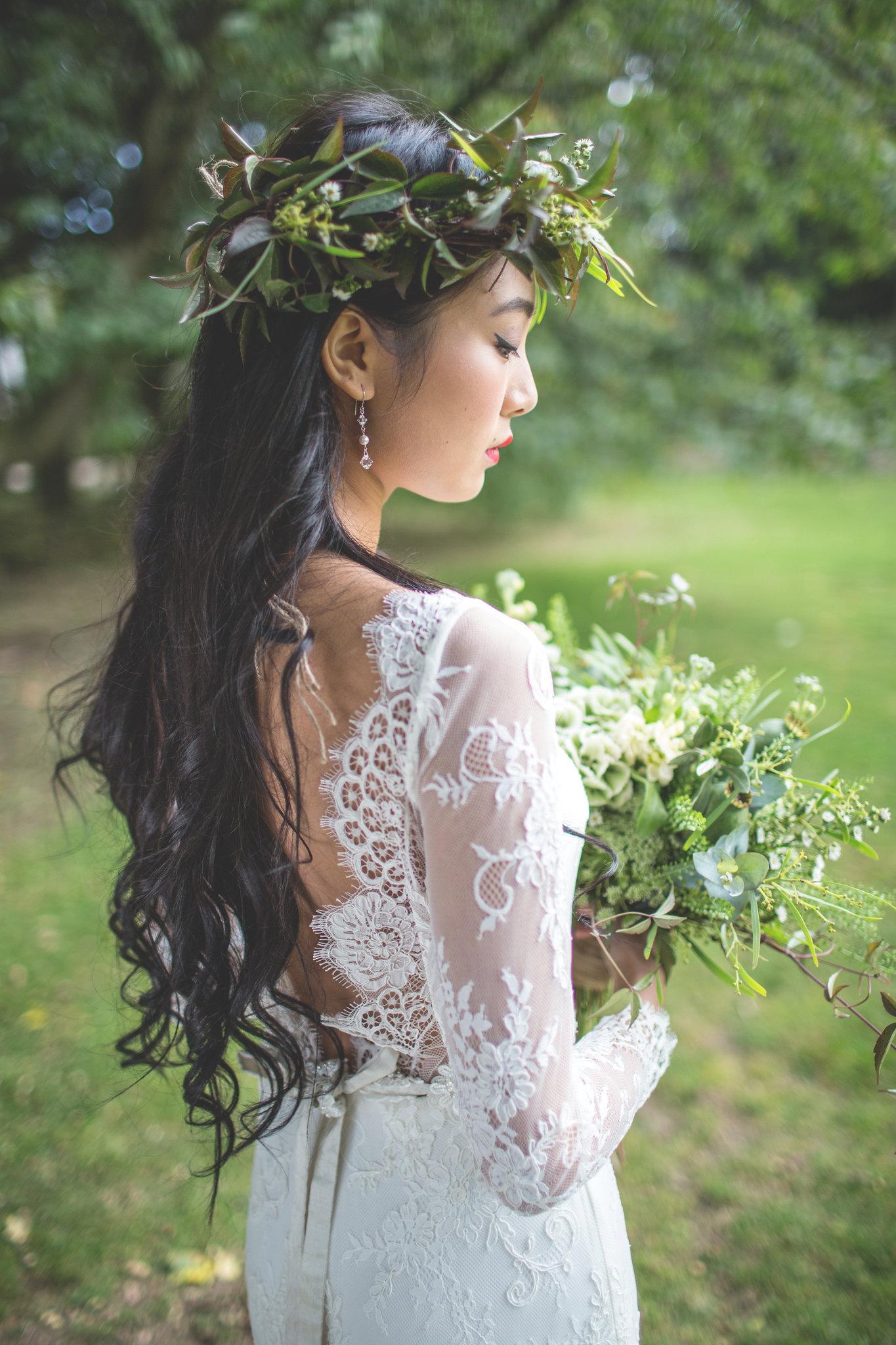 GioiaMiajewellery, earrings, wedding, bohemianwedding, floralcrown, weddingcrown,