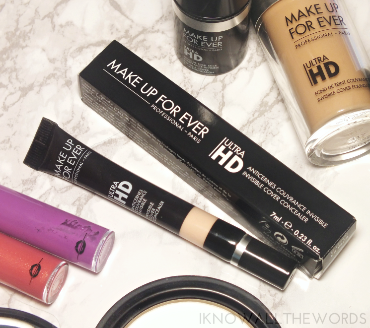 make up for ever ultra hd invisible cover concealer  in R20 colour correct (2)