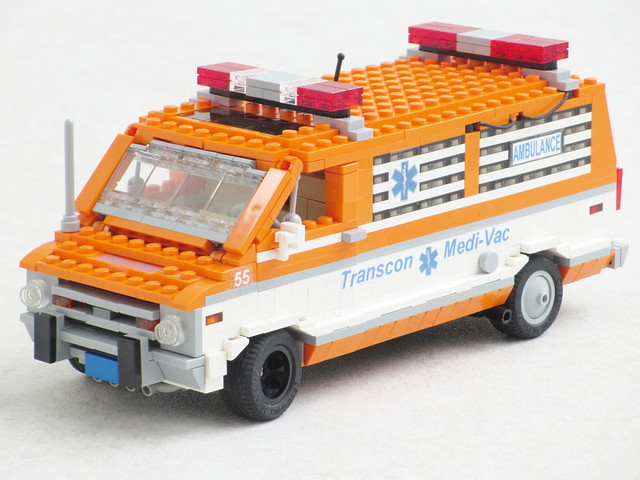 The Cannonball Run Ambulance