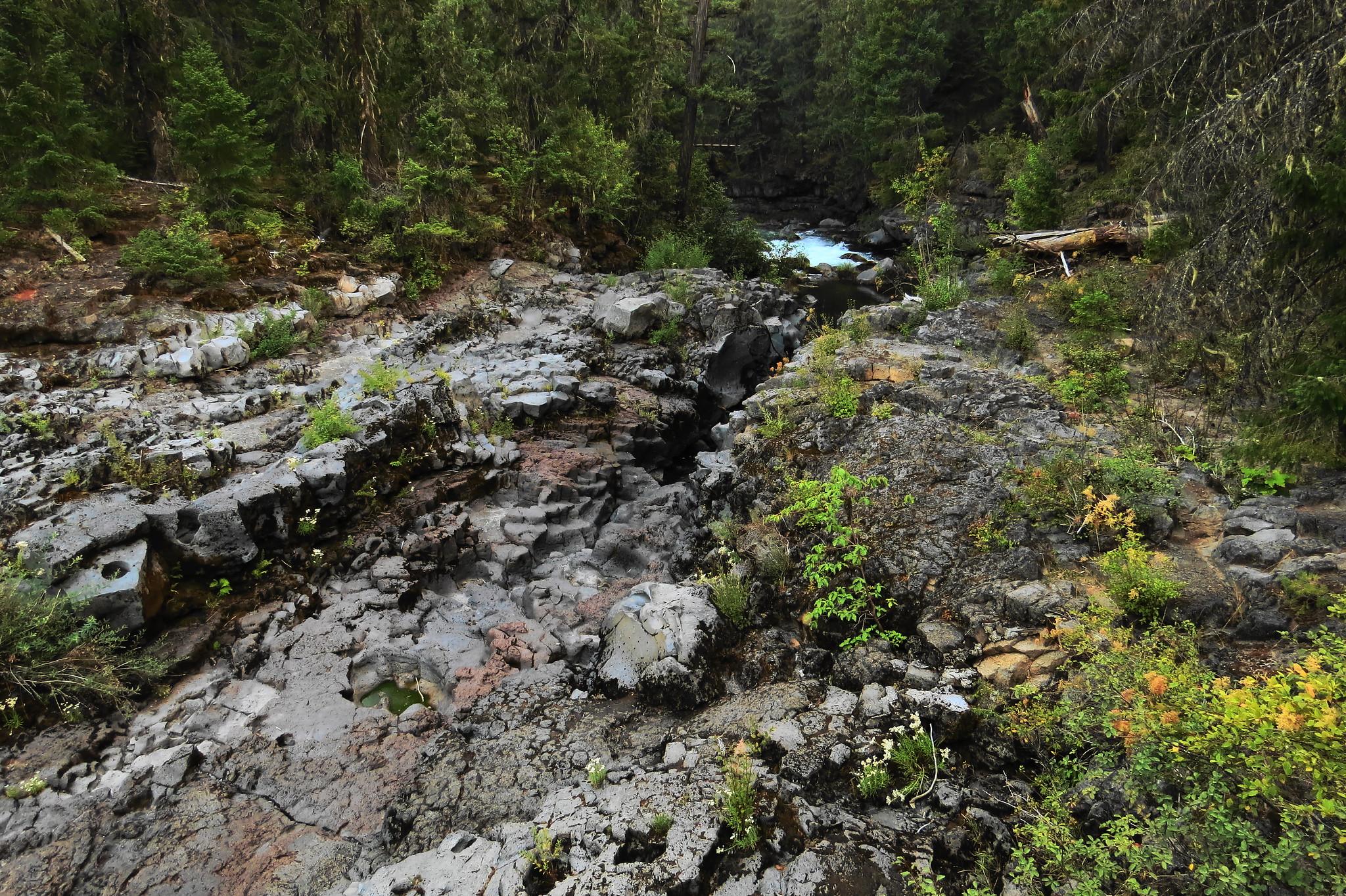 Rogue Gorge Natural Bridge