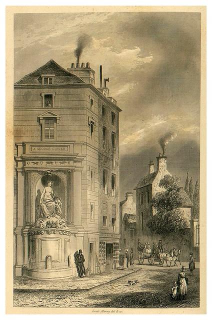 013-Fuente de la calle Couvier-Le Jardin des Plantes-1842-P. Bernad y otros- Universitè de Strasbourg
