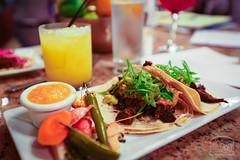 Carne Asada Tacos - Stone Ground Salsa, Lime, Sacl…