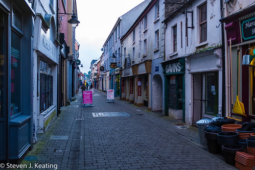 city ireland architecture advertising landscape evening ennis adverts countyclare