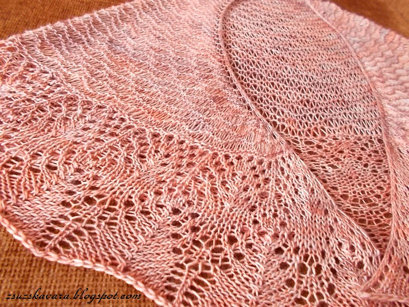 Aase's shawl, knitting, madelinetosh, merino (4)