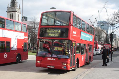 Metroline VPL637 LK54FWT