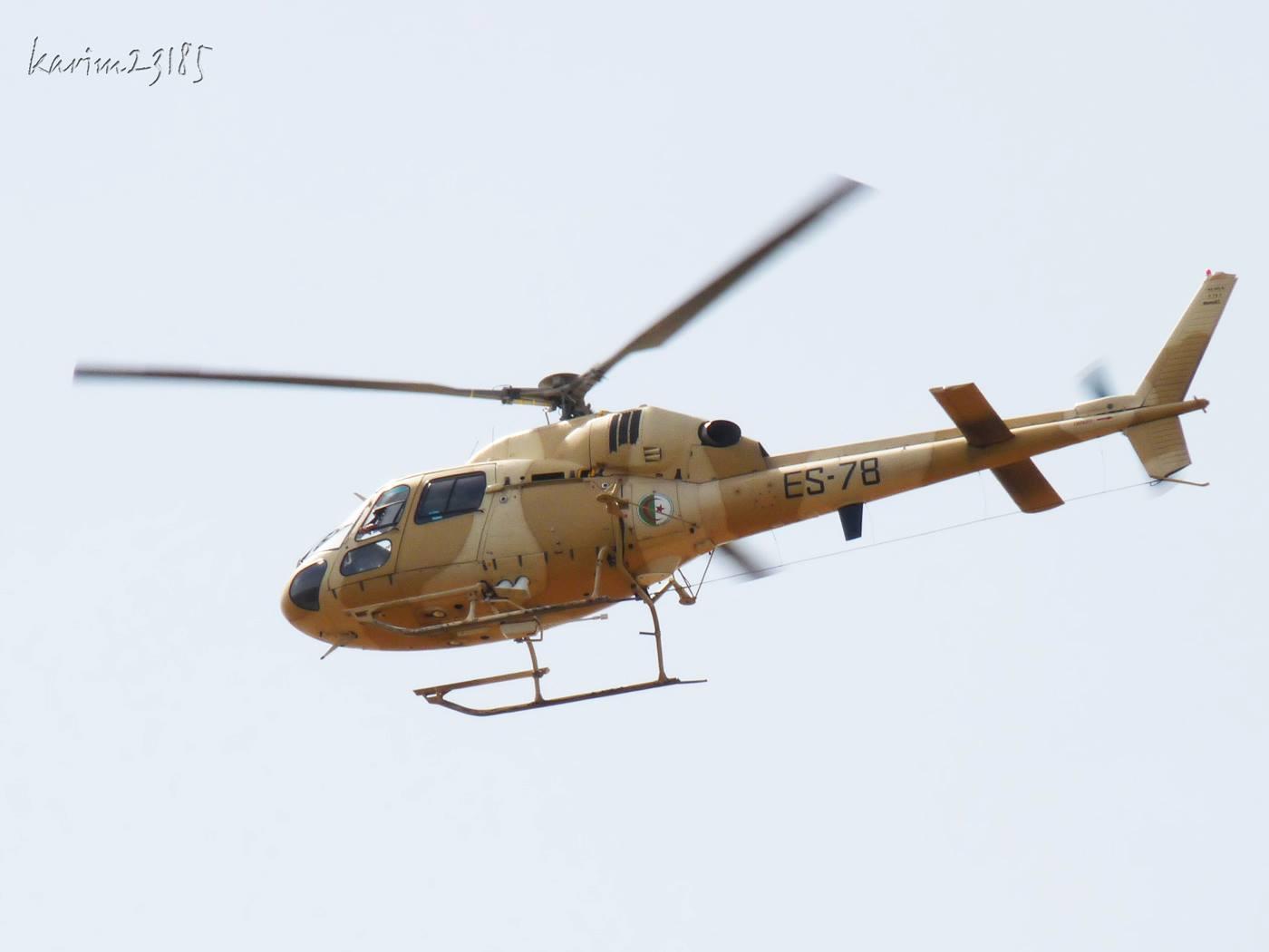 صور مروحيات القوات الجوية الجزائرية Ecureuil/Fennec ] AS-355N2 / AS-555N ] - صفحة 4 25902182643_03bb2c5182_o