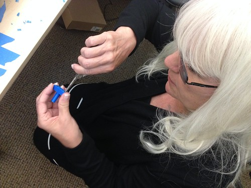 Jennifer Kraemer (ECE) Removing Support Material from 3D Printed Parts from the Free Universal Construction Kit