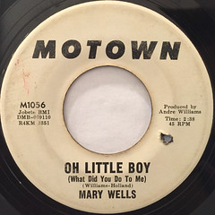 MARY WELLS:MY GUY(LABEL SIDE-B)