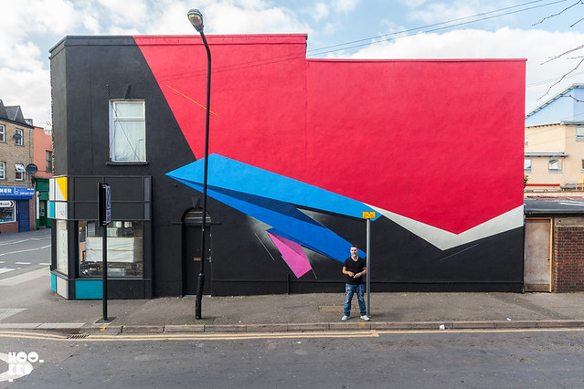 London artist Remi Rough Walthamstow Street Art Mural. Photo ©Hookedblog