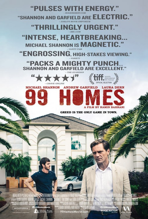 99 Homes - Poster 2