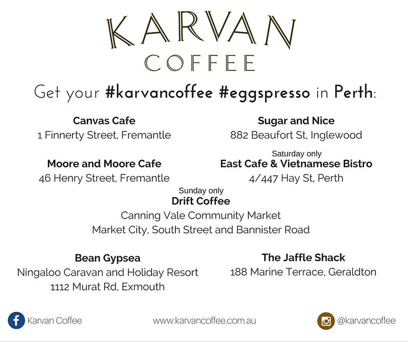 Karvan Coffee Eggspresso Coffee shops
