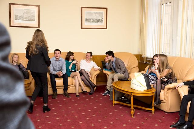 Встреча актива ССт с ректором