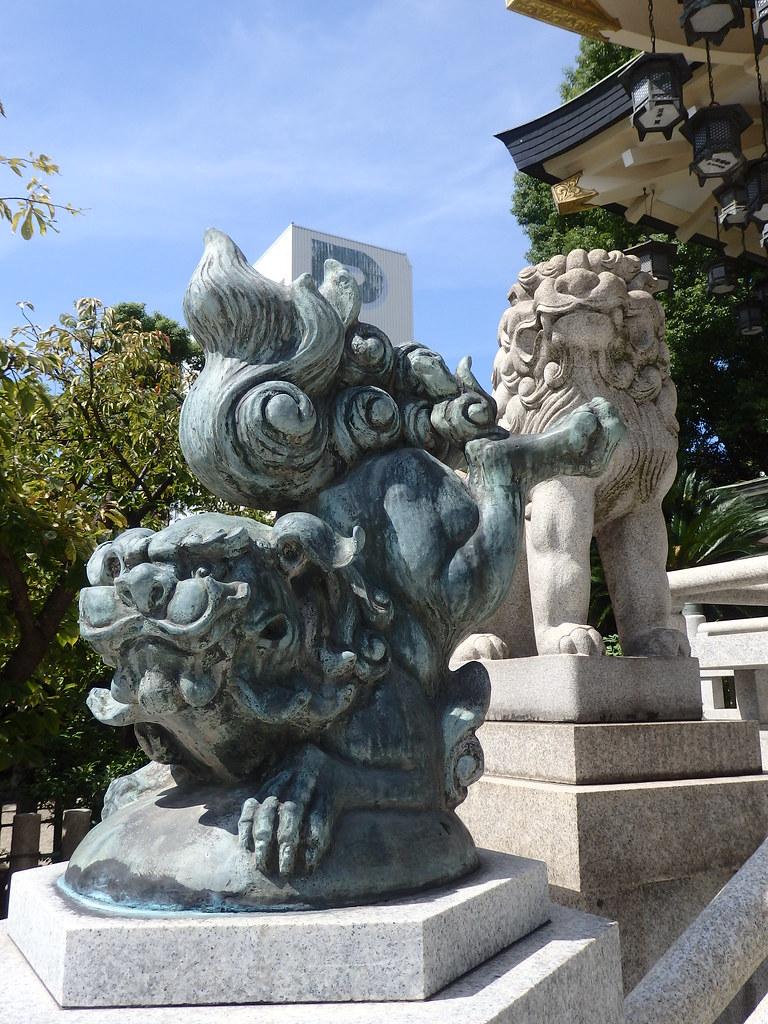 大阪難波神社