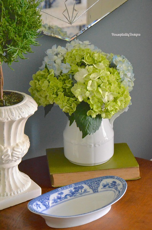 Guest Room Table - Housepitality Designs
