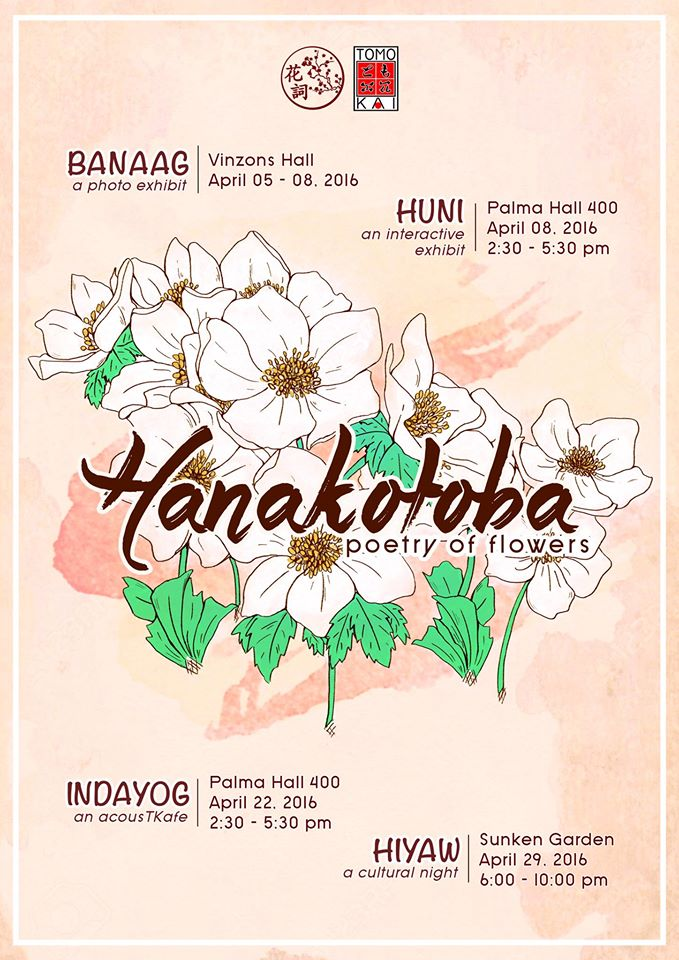 UP Tomo-Kai Presents Hanakotoba [花詞]