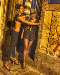 (beco do rato) | photo shooting | carioca soul | Since the early 1950s, Lapa has been known for its lively cultural life where there is a concentration of many restaurants and bars where Brazilian artists and intellectuals would meet. | #people #streetpho