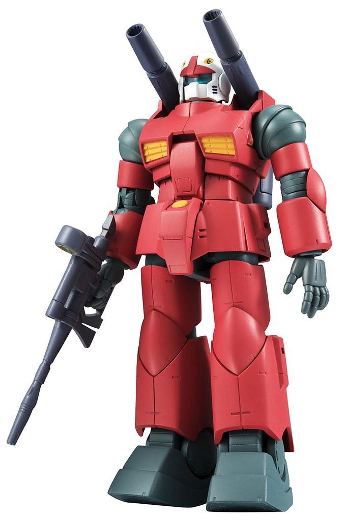 聯邦軍代表機體登場!ROBOT魂〈SIDE MS〉 RX-77-2 鋼加農 ver. A.N.I.M.E.