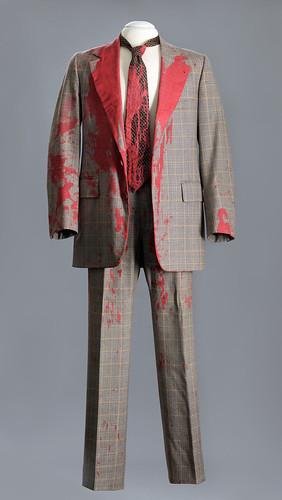 Suit and tie worn by Ambassador William vanden Heuvel