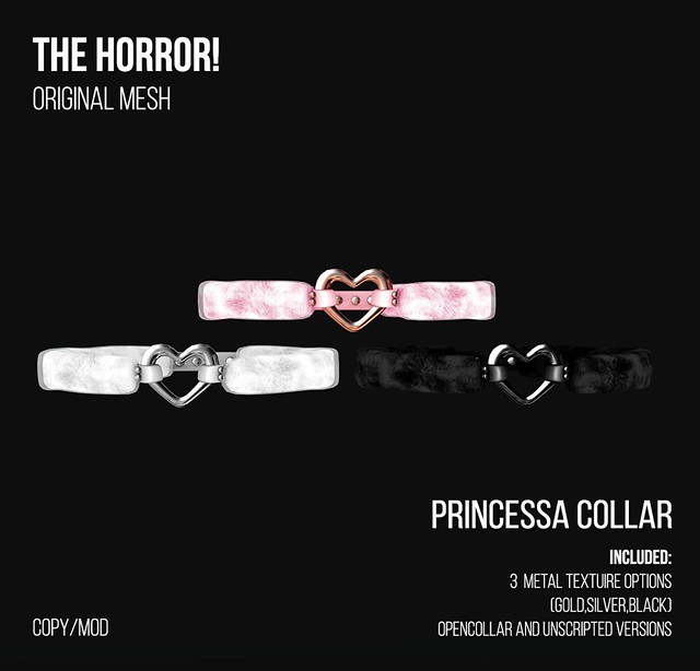 The Horror!~ Princessa Collar @ ROMP