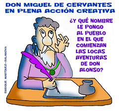 Cervantes crea...