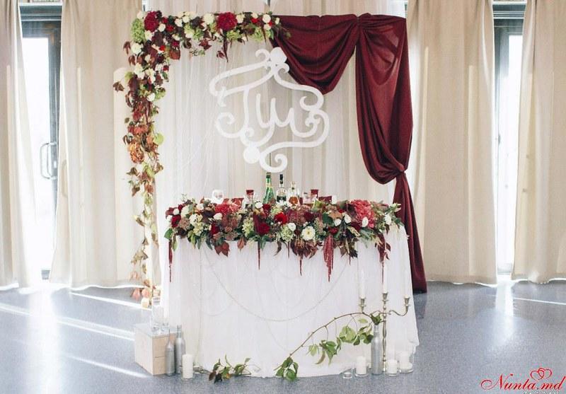 Tatiana Decor- Мы сделаем Ваш праздник Красивым! > Фото из галереи `4. Свадьба цвета Марсала`
