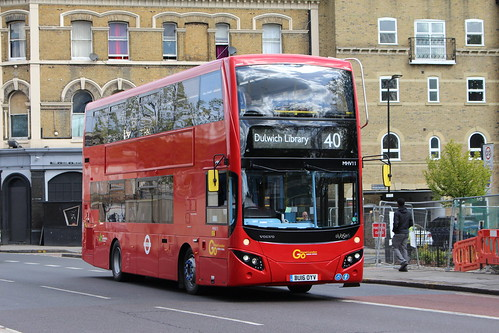 First Day: Return of London Central to Route 40