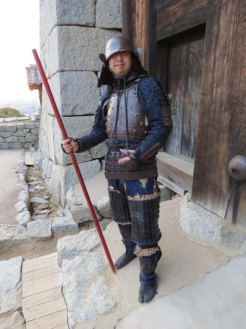Samurai at Matsuyama Castle