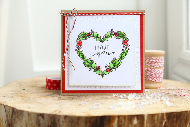 I heart you {just ME digital stamps}