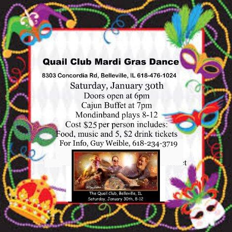 Quail Club 1-30-16