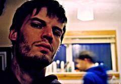 Me & Rab at his old flat_2009