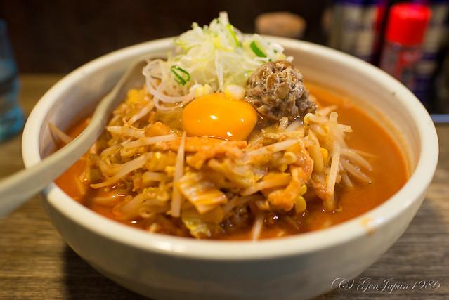 柳家 納豆キムチラーメン