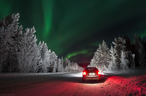 Trip the Northern lights.