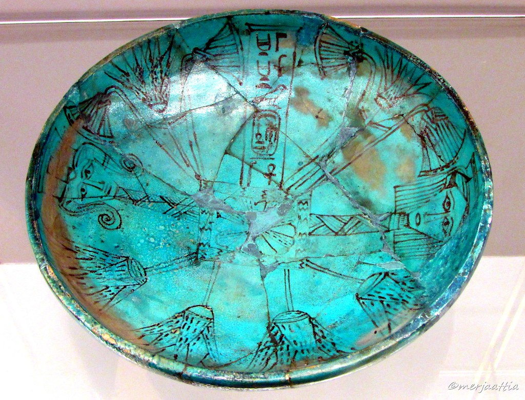 Bowl decorated with Symbols of Creation, Rebirth and Magic… | Flickr