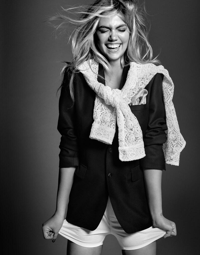 Кейт Аптон — Фотосессия для «Harper's Bazaar» SG 2015 – 2
