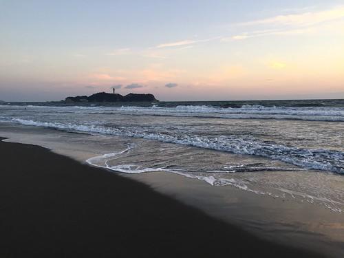 2016年1月2日の江ノ島
