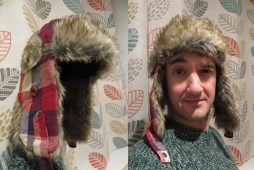 the furry hat