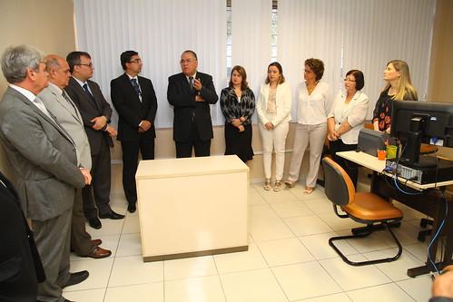 Instalação do Núcleo de Conciliação Pré-Processual da Compesa em Olinda