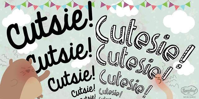 3/6 Cutsie-Cutesie-Cutesy