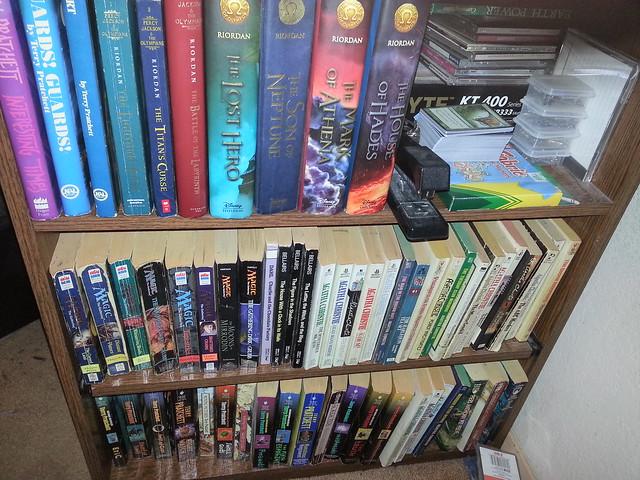 Bookshelf reorg!